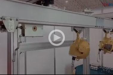 铝合金轨道厂家缓冲器实验