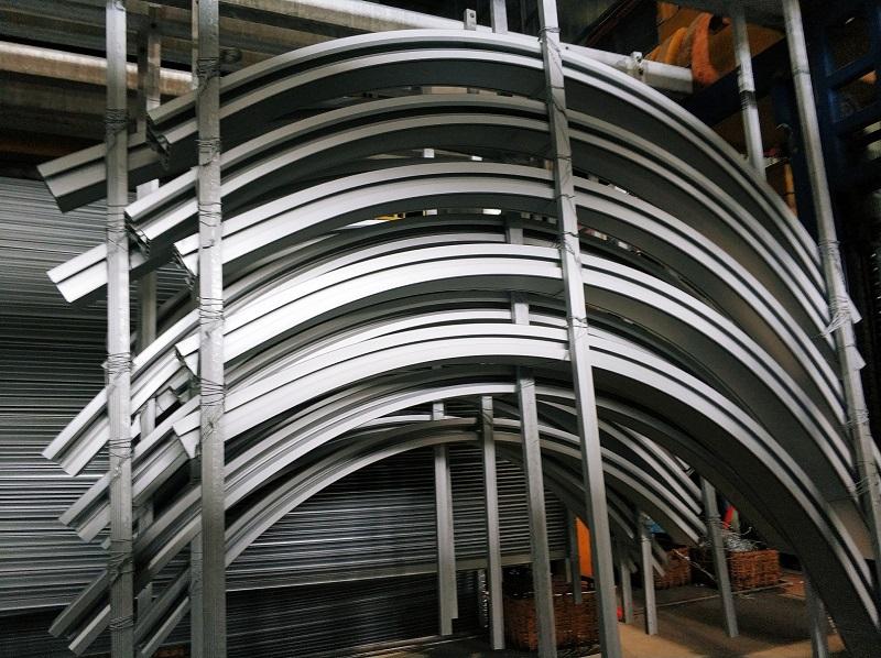 定制弧形铝合金轨道