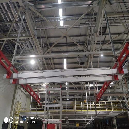 铝合金轨道安装施工案例