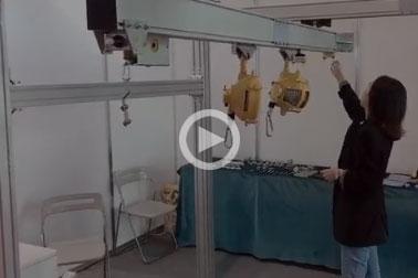 铝合金轨道厂家展会视频