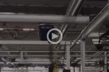 铝合金轨道系统现场视频