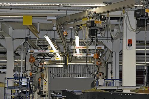 弯型铝轨变速器制造应用
