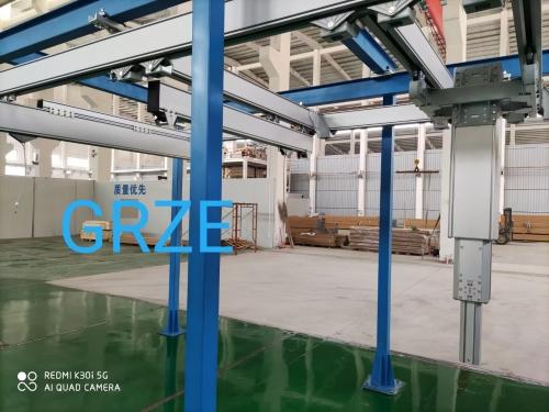 铝合金轨道产品展架