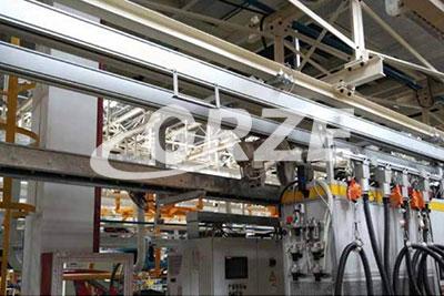铝合金轨道厂家供电电缆安装