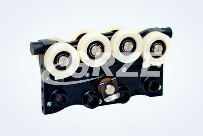 轨道车附件-铝合金滑车-硬塑滑车